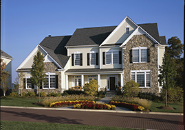 Cover Up Construction - Siding - A house with nice stone installation also needs durable and asthetic siding.