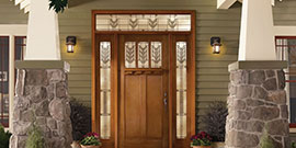Doors done well give any home character and comfort.