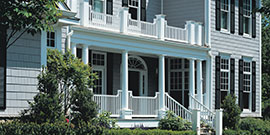 Our railing installations are functional and asthetic.